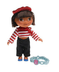 france dora visits dolls styled just