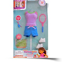 Dora Explorer Girls Sports Style Fashions