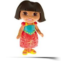 Dora The Explorer Coral Dora Doll