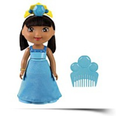 Spin And Sparkle Blue Crystal Dora