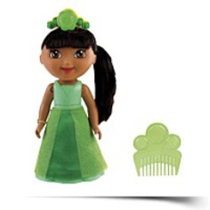 Spin And Sparkle Green Crystal Dora