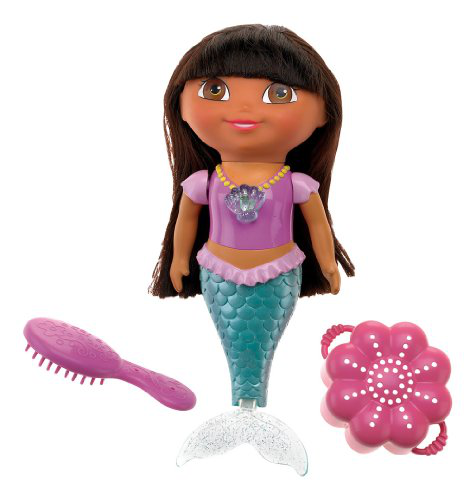 Dora The Explorer Swim And Splash Mermaid